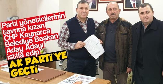 Parti yönetimine kızdı AK Parti'ye geçti