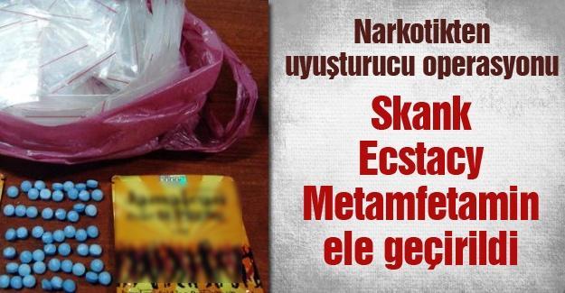 Narkotikten uyuşturucu operasyonu