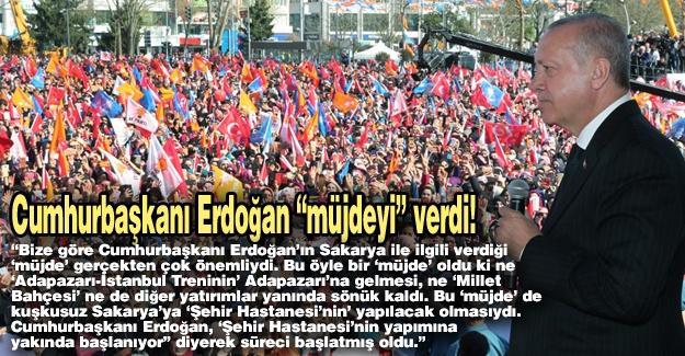 "Cumhurbaşkanı Erdoğan ""müjdeyi"" verdi!…"