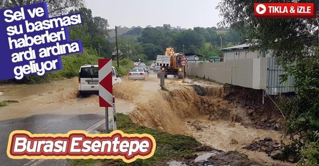 Sel ve su basması haberleri ardı ardına geliyor!