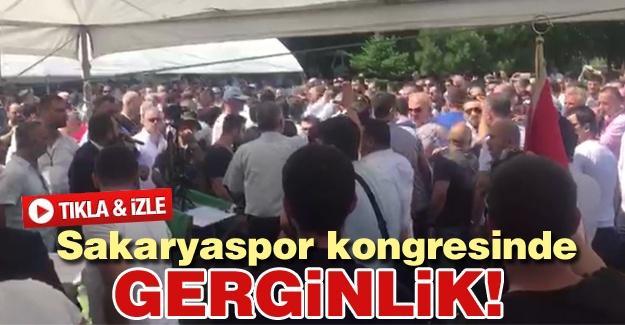 Sakaryaspor kongresinde gerginlik!
