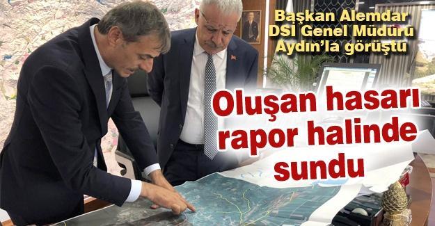 Başkan Alemdar DSİ Genel Müdürü Aydın'la görüştü