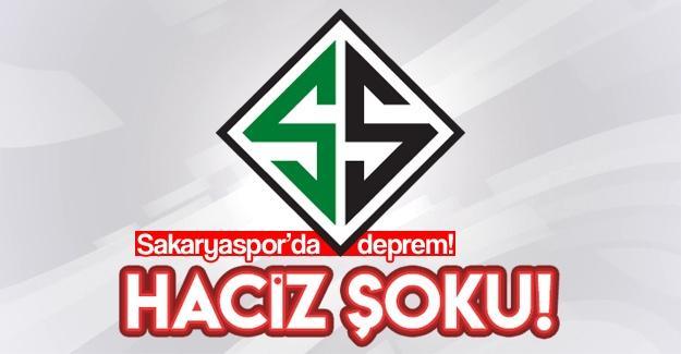 Sakaryaspor'a haciz şoku!