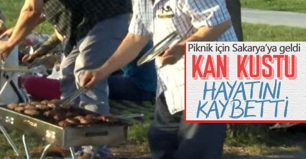 Piknik için Sakarya'ya geldi, hayatını kaybetti