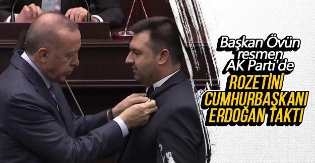 Başkan Övün resmen AK Parti'de!