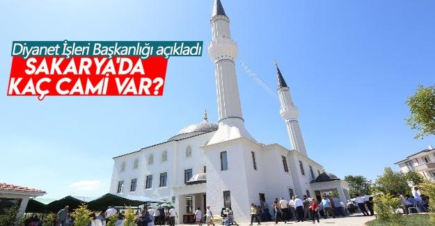 Sakarya'daki cami sayısı açıklandı