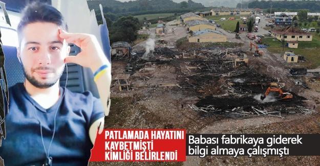 Patlamada hayatını kaybetmişti kimliği belirlendi