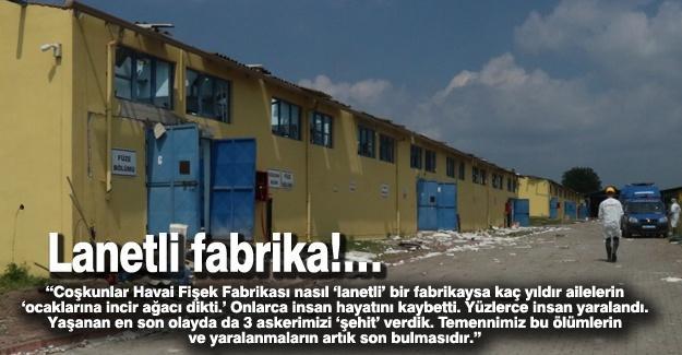 Lanetli fabrika!…