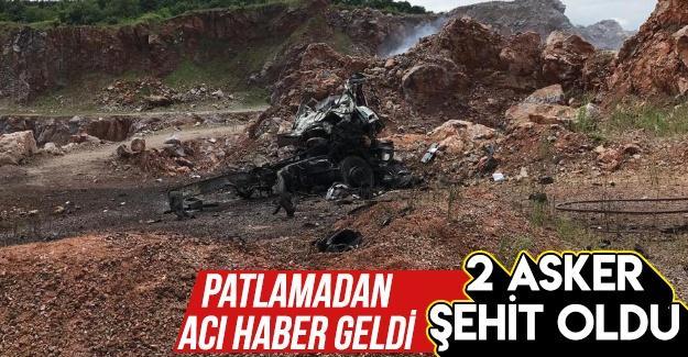 Patlamadan acı haber geldi