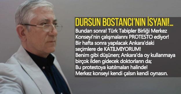 Dursun Bostancı'nın isyanı!…