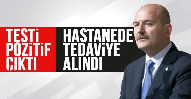 İçişleri Bakanı Soylu'nun testi pozitif çıktı