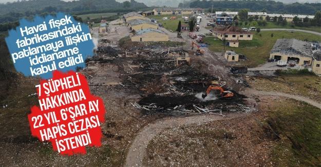 Patlamaya ilişkin iddianame kabul edildi