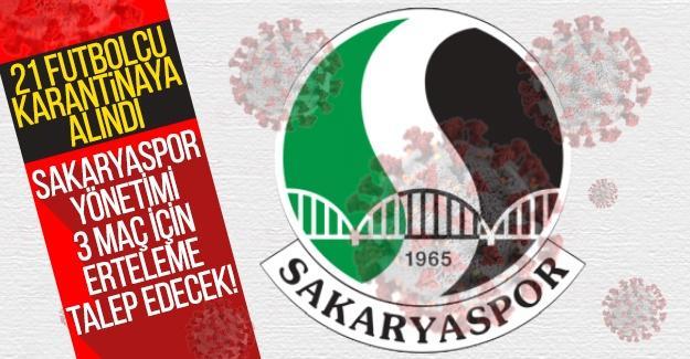 Sakaryaspor yönetimi 3 maç için erteleme talep edecek!