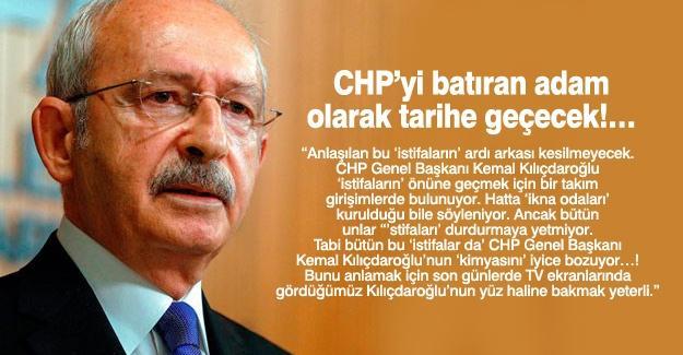 CHP'yi batıran adam olarak tarihe geçecek!…