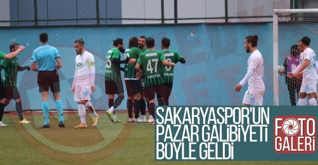 Sakaryaspor'un Pazar galibiyeti böyle geldi