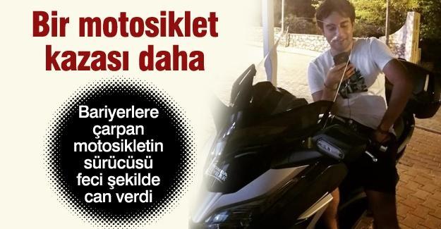 Bir motosiklet kazası daha!
