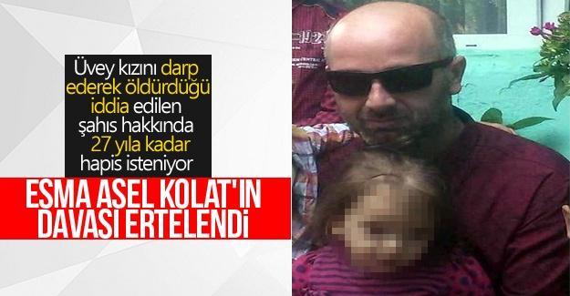Minik Esma Asel Kolat'ın davası ertelendi