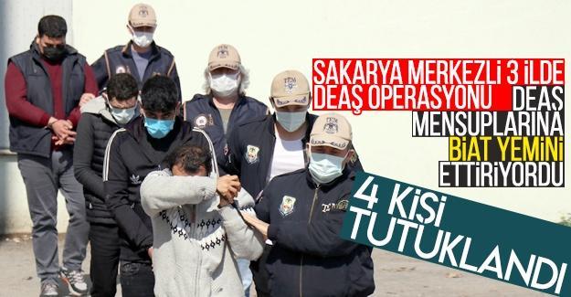 Sakarya merkezli 3 ilde DEAŞ operasyonu