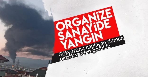 Organize sanayide yangın