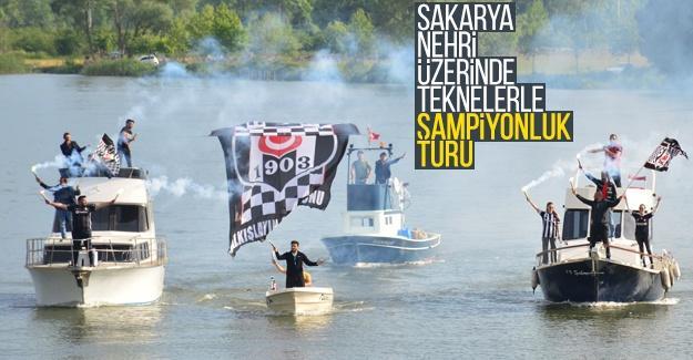 Sakarya Nehri üzerinde şampiyonluk turu attılar