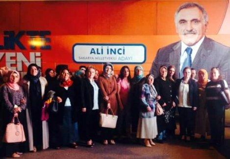 Erenler'in AK Kadınları Çaybaşı mitinginde