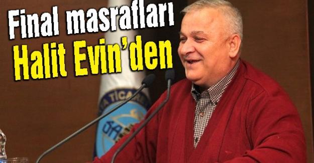Halit Evin Sakaryaspor'a sponsor oldu
