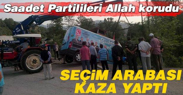 Saadet Partilileri Allah korudu