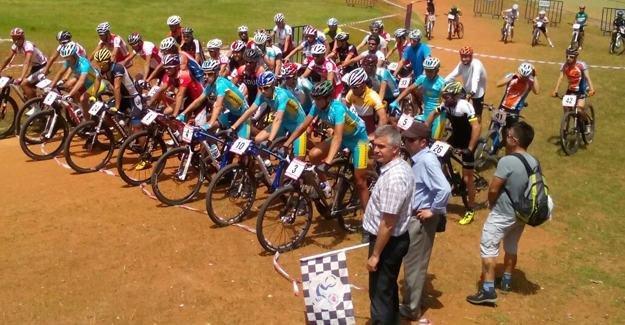 """""""Uluslar arası Dağ Bisikleti Kupası"""" yarışları"""