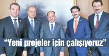 AK Partili vekillerden Akdağ'a ziyaret