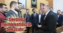 MBDD'den Toçoğlu'na ziyaret