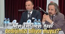Başkan Kazan Aydın'da referandumu anlattı