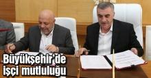 Toplu sözleşme imzalandı