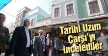 Vali Coş ve Başkan Toçoğlu esnafı ziyaret etti