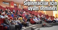 İlk seminer SGM'de yapıldı