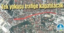 Orhangazi Caddesi'nin altyapısı yenileniyor