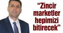 İndirimli satış yapan zincir marketlere tepki