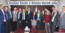 Başkan Kazan'dan Adana Barosuna destek