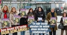 Vahşice öldürülen Suriyeli Emani davasında 2. celse