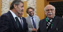 Prof. Dr. Nabi Avcı Başkan Alemdar'a misafir oldu