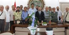 Köylülerden Başkan Kazan'a teşekkür ziyareti