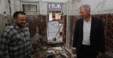 Başkan Dişli, çalışmaları yerinde inceledi