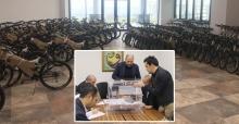 300 bisiklet sahibini buldu