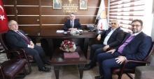 Vali Nayir'den siyasi partilere iade-i ziyaret