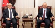 Bakan Yardımcısı Ersoy'dan Vali Nayir'e ziyaret