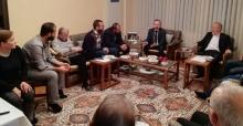 Zafer Kazan İstiklal Mahallesinde ev ziyaretinde