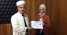 Almanya'dan Sakarya'ya geldi Müslüman oldu