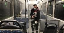 Toplu taşımada dezenfekte çalışmaları sürüyor