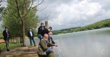 70 bin adet yavru sazan balığı göletlere bırakıldı