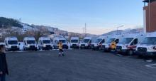 Sakarya'ya 10 yeni ambulans