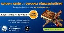 Kur'an-ı Kerim ve Osmanlı Türkçesi eğitimleri başlıyor